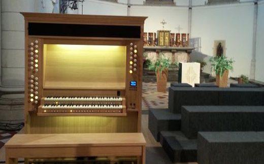 Installazioni di organi Viscount in Belgio